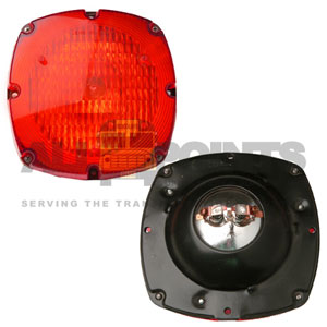 WARNING LIGHT ASSEMBLY, RED