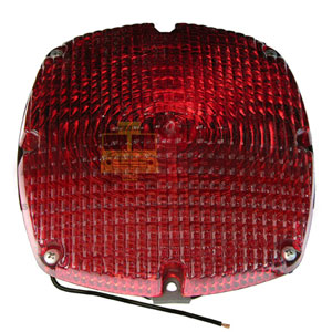 RED TAILIGHT ASSY, 1156 BULB