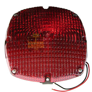 RED TAIL LIGHT ASSEMBLY 1157 BULB