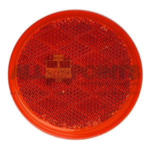 "3"" SELF ADHESIVE REFLECTOR, RED"