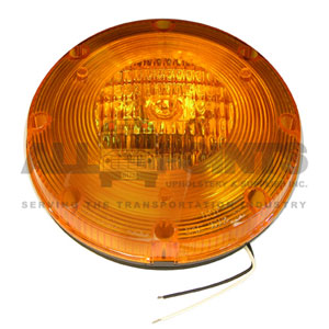 AMBER WARNING LIGHT ASSEMBLY WITH H3 BULB
